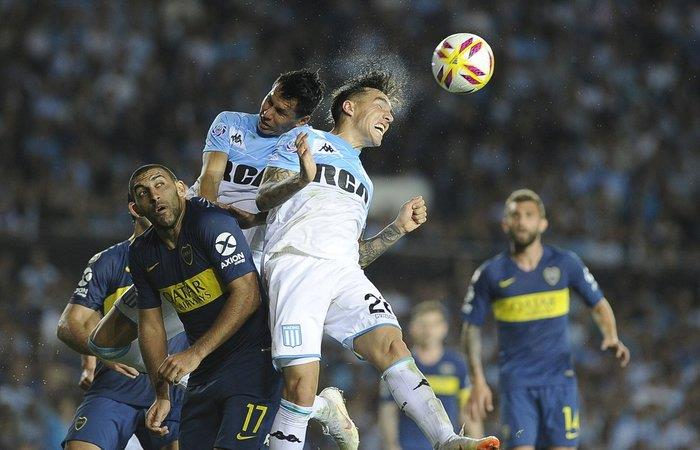 Racing igualó 2-2 ante Boca Juniors (Foto: Twitter)
