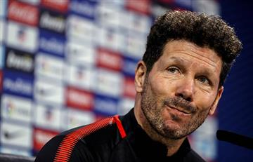El 'Cholo' no se presentó a los entrenamiento del Atlético de Madrid