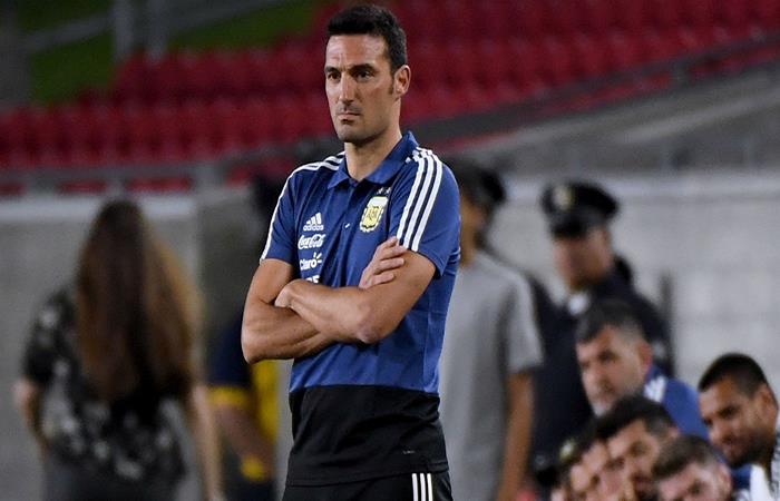 Argentina vs Irak: el once de Lionel Scaloni