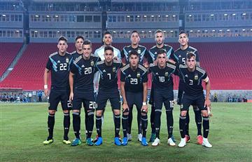 EN VIVO: Argentina vs Irak
