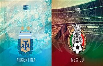 Conocé las fechas del Argentina vs México