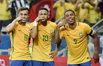 Neymar, Coutinho y Gabriel Jesus jugarán ante Argentina