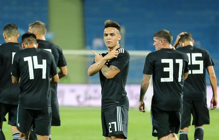 Argentina ganó 4-0 a Irak. Foto: EFE