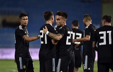 Mirá el resumen de la goleada Argentina