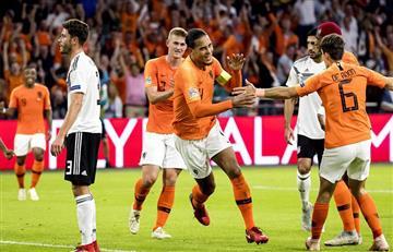 Holanda renace tras golear a Alemani ex campeona del mundo