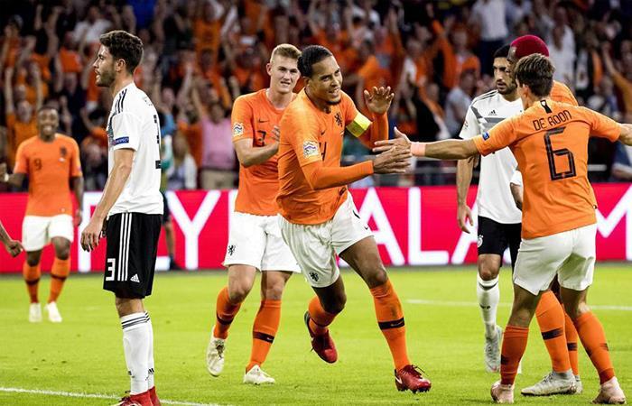 Holanda venció 3-0 a Alemania (Foto: Twitter)