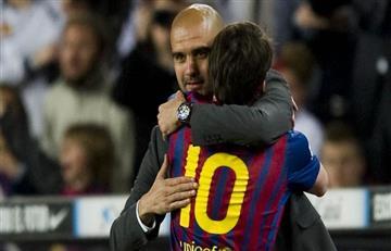 Guardiola debe su éxito en el Barcelona a Messi