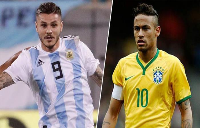 Argentina vs Brasil (Foto: Twitter)