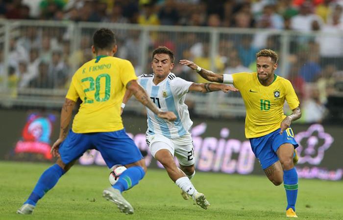 Brasil derrotó a la Argentina sobre el final. (FOTO: AFP)