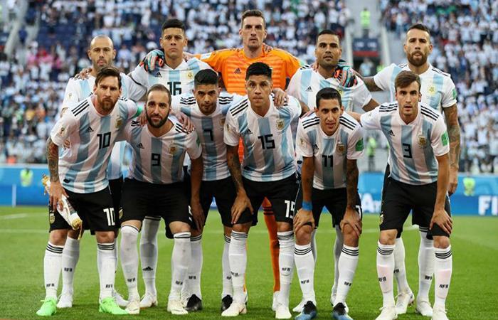 La Selección Argentina en Rusia 2018. Foto: AFP