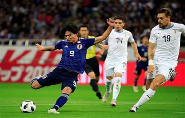 Los goles del Japón 4-3 Uruguay