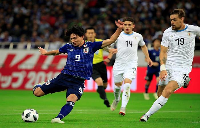 Japón derrotó a Uruguay en un partidazo. (FOTO: EFE)