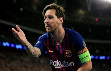 Messi, el mejor una vez más