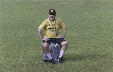 Maradona vuelve a estar enfermo