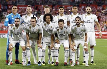 Real Madrid vuelve a la Liga Española con todos sus titulares