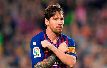 Lionel Messi en la cima de los goleadores
