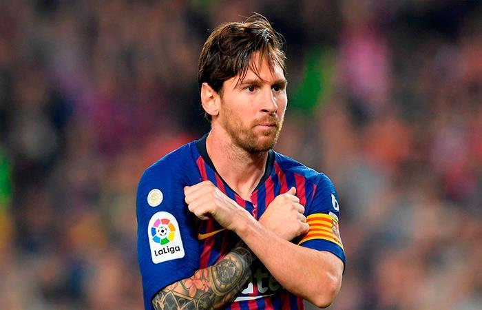 Lionel Messi (Foto: Twitter)