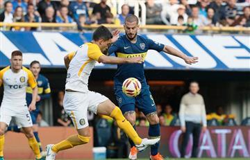 Boca no pudo ante Rosario Central y terminó igualando en la Bombonera