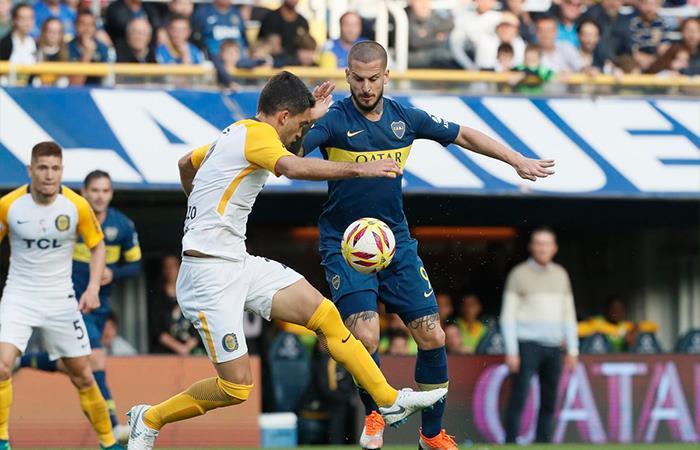 Boca igualó 0-0 ante Rosario Central (Foto: Twitter)