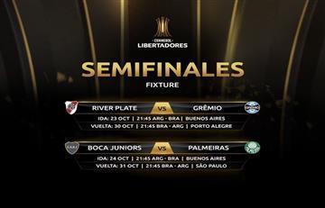Las semis de la Libertadores
