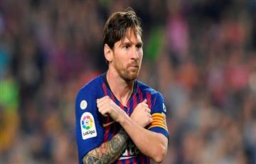 Messi en el once de Europa