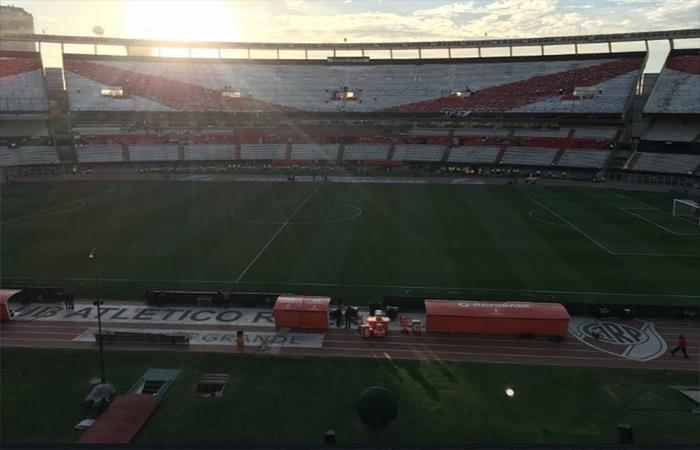 River Plate vs Gremio: mirá las mejores postales de la salida del 'Millonario'