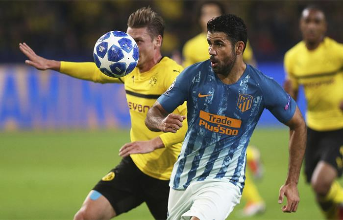 Champions League: Atlético de Madrid cae ante el Dortmund
