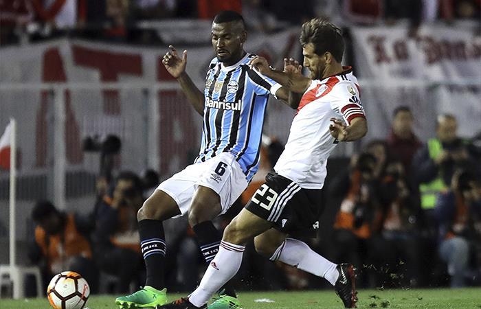 River Plate cayó 1-0 ante Gremio (Foto: EFE)
