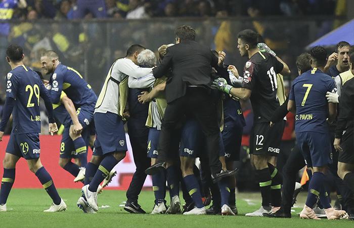 Boca Juniors venció 2-0 a Palmeiras (Foto: EFE)