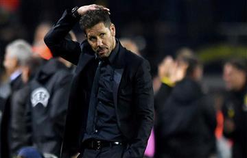 Diego Simeone y sus declaraciones tras caer ante el Dortmund