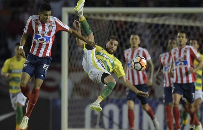Junior vence 2-0 a Defensa y Justicia (Foto: Twitter)