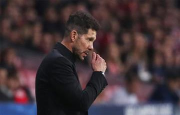Diego Simeone habló fuertemente sobre las críticas que viene teniendo