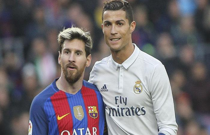 Lionel Messi y Cristiano Ronaldo (Foto: EFE)