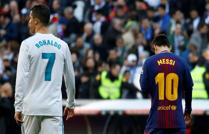 Cristiano Ronaldo y Lionel Messi. (FOTO: AFP)