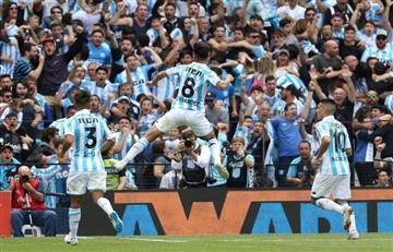 Racing Club se copa ante San Lorenzo y vuelve al triunfo