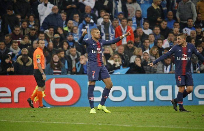 PSG venció 1-0 al Olympique Marsella. Foto: Twitter