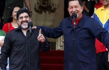 Maduro y Morales saludan al Diego