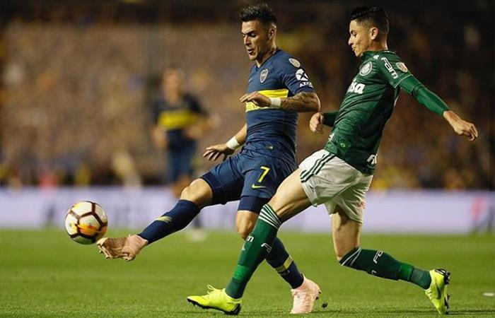 Palmeiras vs Boca Juniors (Foto: Twitter)
