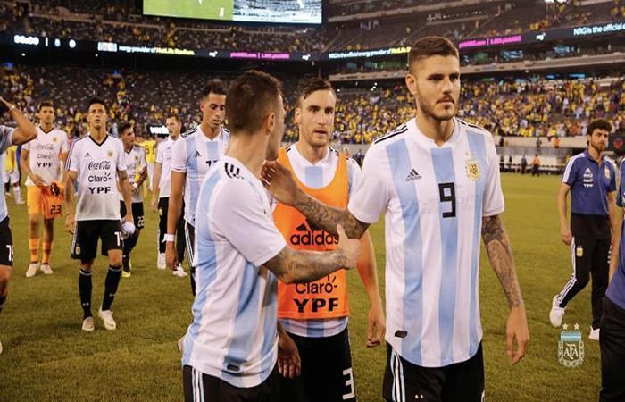 La nueva Selección Argentina. Foto: Twitter