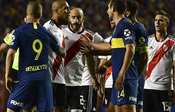 Boca Juniors vs River Plate Foto: Twitter)