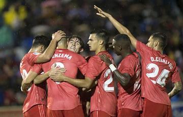 Solari debuta con goleada en el Madrid