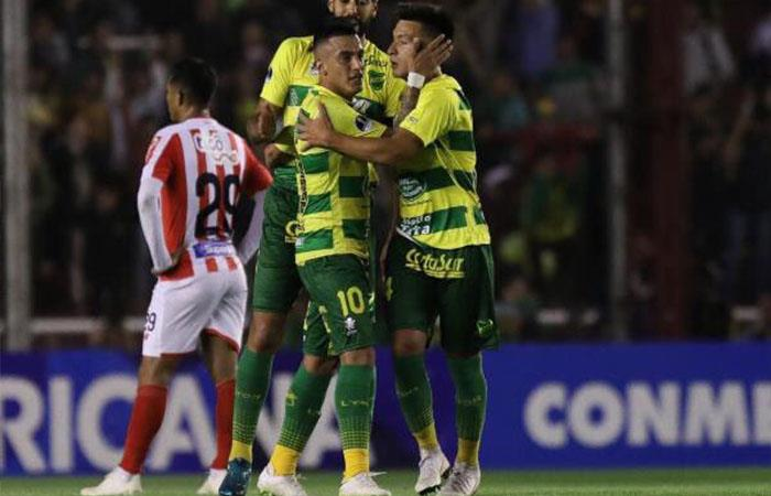 Defensa y Justicia cae 3-1 ante Junior (Foto: Twitter)