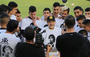 Los Dorados de Maradona vuelven a jugar