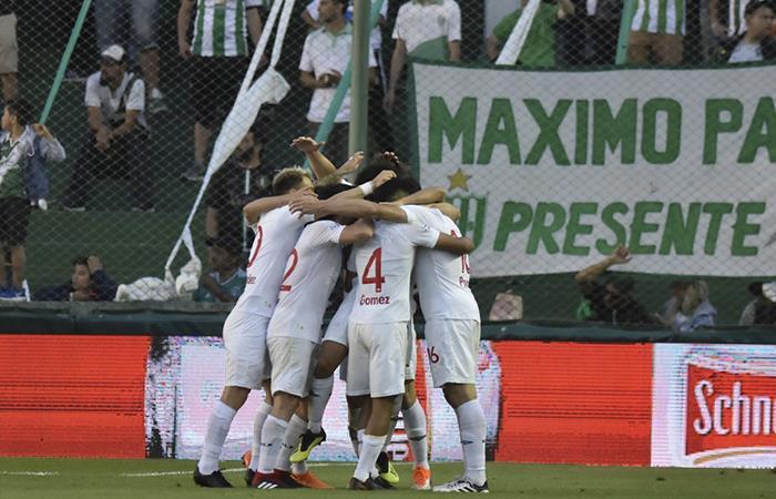 Estudiantes LP vs River Plate. Foto: Twitter