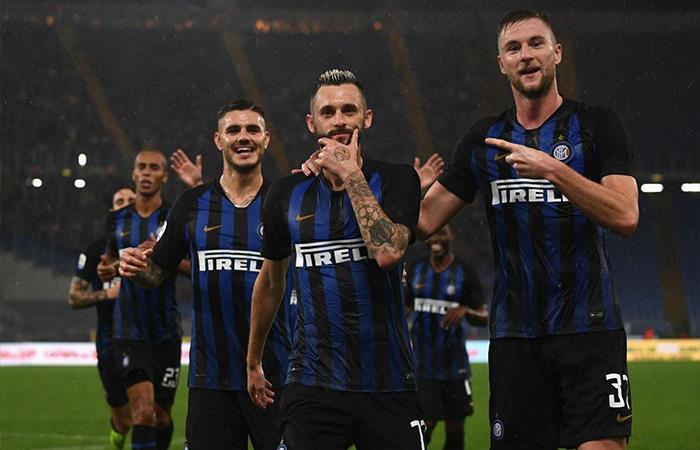 Inter vs Génova. Foto: Twitter