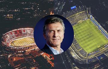 Mauricio Macri confirmó que la final de la Libertadores será con hinchada visitantes