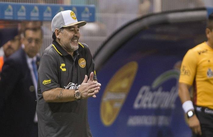 Diego Armando Maradona. (FOTO: Twitter)
