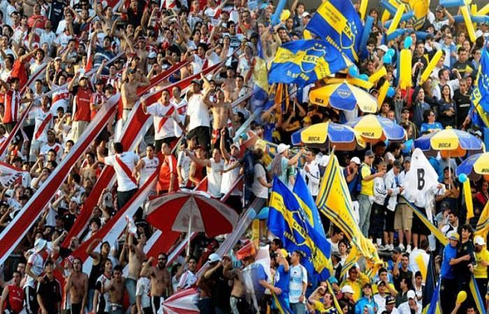 Boca Juniors vs River Plate. Foto: Twitter