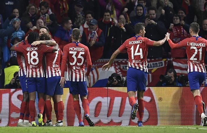 Atlético de Madrid vence 2-0 al Dortmund. Foto: Twitter