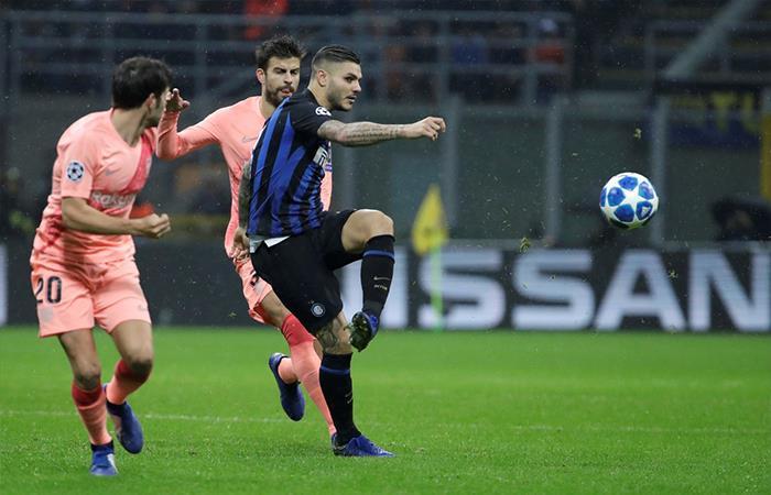 Barcelona logra sacar un gran empate ante el Inter en Italia